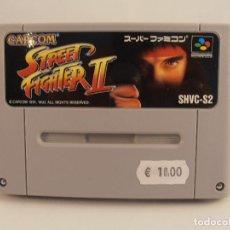 Videojuegos y Consolas: JUEGO SUPER STREET FIGHTER II, SOLO CARTUCHO, NINTENDO SUPER FAMICOM,VERSION JAPONESA. Lote 105201419