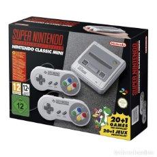 Videojuegos y Consolas: CONSOLA SUPER NINTENDO CLASSIC MINI NES TOTALMENTE NUEVA A ESTRENAR. Lote 105572535