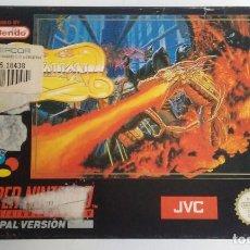 Videojuegos y Consolas: SYVALION SUPERNINTENDO PAL VERSION.. Lote 106119943