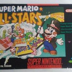 Videojuegos y Consolas: SUPER MARIO ALL STARS SUPERNINTENDO PAL VERSION.. Lote 106121567