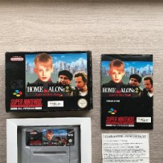 Videojuegos y Consolas: HOME ALONE 2 SNES SUPER NINTENDO PAL NOE COMPLETO CAJA Y MANUAL. Lote 106355639