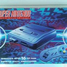 Videojuegos y Consolas: CONSOLA SUPER NINTENDO -SNES- PACK SUPER MARIO WORLD (1992) + MANDO ORIGINAL EXTRA. Lote 106555027