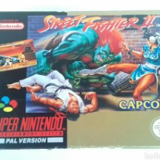 Videojuegos y Consolas: JUEGO SUPER NINTENDO -SNES- STREET FIGHTER II. Lote 106564966
