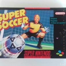 Videojuegos y Consolas: JUEGO SUPER NINTENDO -SNES- SUPER SOCCER. Lote 106567222