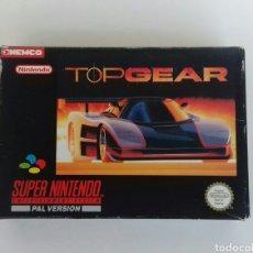 Videojuegos y Consolas: JUEGO SUPER NINTENDO -SNES- TOP GEAR. Lote 106568728