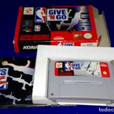 Videojuegos y Consolas: SUPER NINTENDO --- GIVE 'N GO (COMPLETO). Lote 107544411
