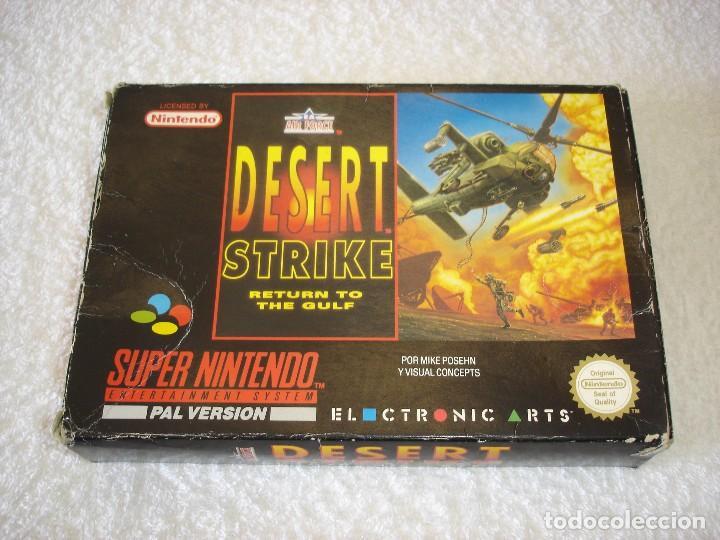 Juego Completo Snes Super Nintendo Desert Stri Kaufen Videospiele