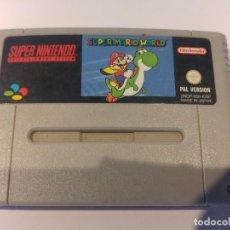 Videojuegos y Consolas: SUPER MARIO WORLD SNES SUPER NINTENDO PAL-ESPAÑA. Lote 109069063