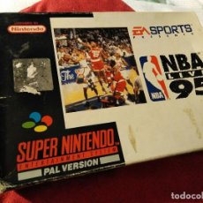 Videojuegos y Consolas: JUEGO SUPER NINTENDO NBA 95. Lote 109349763