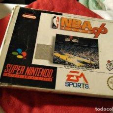 Videojuegos y Consolas: JUEGO SUPER NINTENDO NBA 96. Lote 109349947