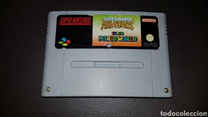 SUPER NINTENDO SUPERMARIO ALL STARS JUEGO CARTUCHO (Juguetes - Videojuegos y Consolas - Nintendo - SuperNintendo)
