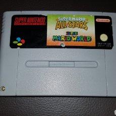 Videojuegos y Consolas: SUPER NINTENDO SUPERMARIO ALL STARS JUEGO CARTUCHO. Lote 109481707