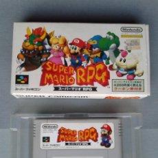 Videojuegos y Consolas: JUEGO SUPER NINTENDO SNES SFC FAMICOM SUPER MARIO RPG BOXED JAPAN NTSC R7075. Lote 111214543