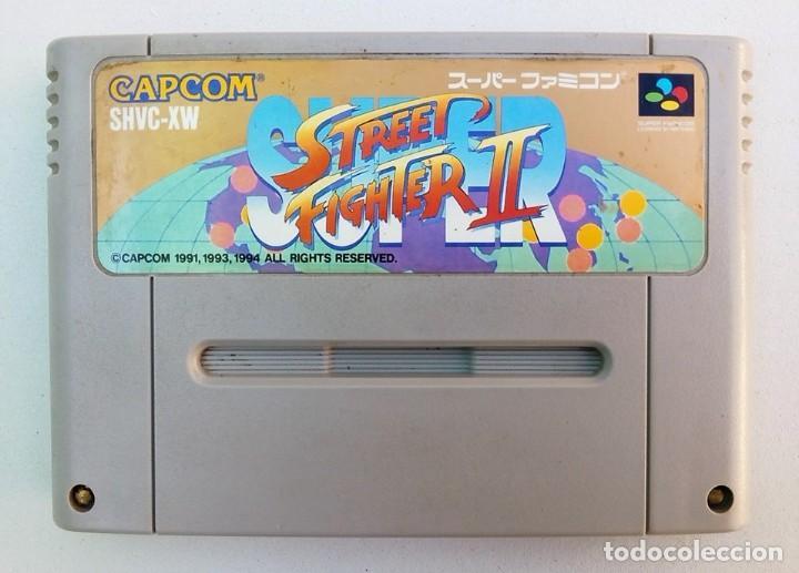 VIDEOJUEGO SUPERNINTENDO SNES - STREET FIGHTER II VERSION JAPÓN - SOLO CONSOLA JAPONESA (Juguetes - Videojuegos y Consolas - Nintendo - SuperNintendo)