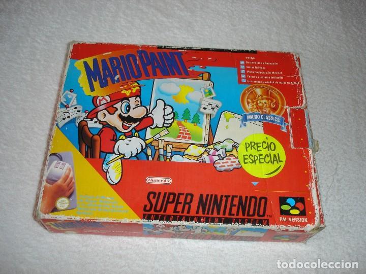 JUEGO COMPLETO SNES SUPER NINTENDO: MARIO PAINT CON CAJA E INSTRUCCIONES - PAL ESPAÑA (Juguetes - Videojuegos y Consolas - Nintendo - SuperNintendo)