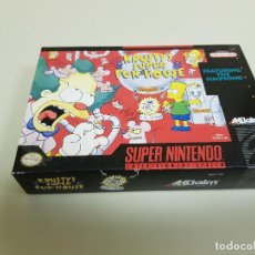 Videojuegos y Consolas: 918- KRUSTY SUPER FUN HOUSE SUPER NINTENDO SOO CAJA ONLY BOX. Lote 143622038