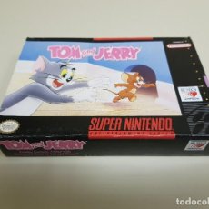 Videojuegos y Consolas: 918- TOM AND JERRY SUPER NINTENDO SOLO CAJA ONLY BOX. Lote 143622185