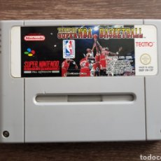 Videojuegos y Consolas: TECMO SUPER NBA BASKETBALL SUPERNINTENDO PAL VERSION. Lote 114361611