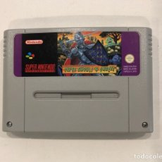 Videojuegos y Consolas: SUPER GHOULS'N GHOSTS, SUPER NINTENDO, ORIGINAL, VERSION PAL, NINTENDO. Lote 114669715