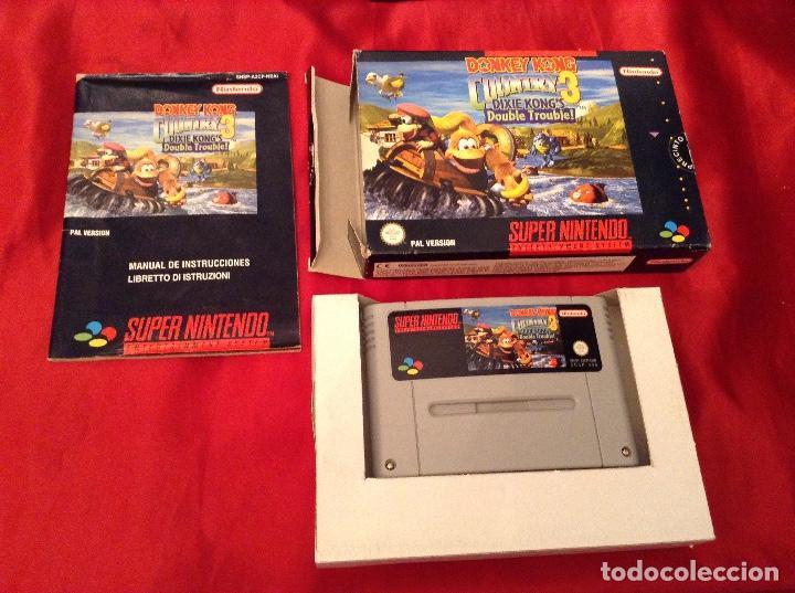 Videojuegos y Consolas: Donkey kong country 3 completo - Foto 3 - 114876647