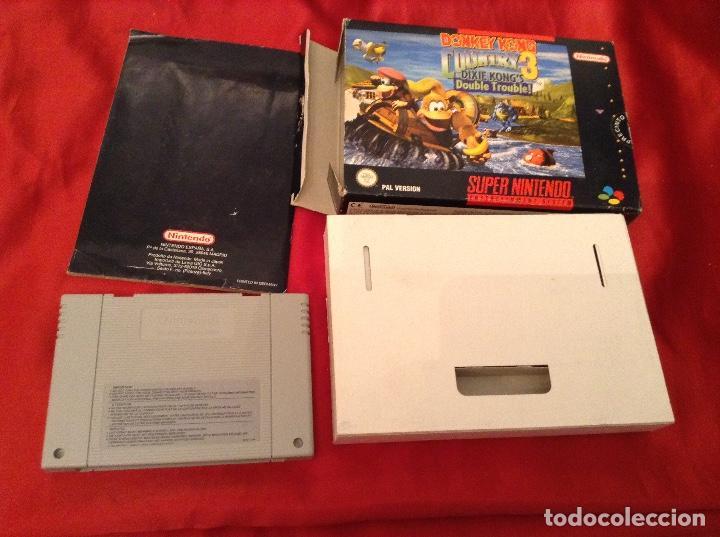 Videojuegos y Consolas: Donkey kong country 3 completo - Foto 4 - 114876647
