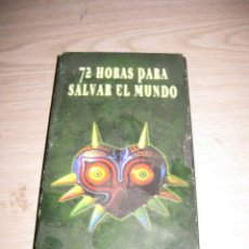 Videojuegos y Consolas: NINTENDO ACCION **72 HORAS PARA SALVAR EL MUNDO**. Lote 115314051