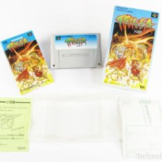 Videojuegos y Consolas: JUEGO PARA SUPER FAMICOM NINTENDO - TRINEA JAPONÉS SNES. Lote 116202211