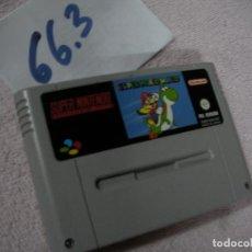 Videojuegos y Consolas: JUEGO SUPERNINTENDO SUPER MARIO WORLD. Lote 116381475