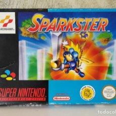Videojuegos y Consolas: CAJA ORIGINAL SPARKSTER SUPER NINTENDO . Lote 116825815