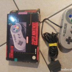 Videojuegos y Consolas: MANDO PAD JOYPAD SUPER NINTENDO SNES PAL-ESPAÑA ORIGINAL 100 %. Lote 117472039