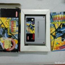 Videojuegos y Consolas: URBAN STRIKE - SUPER NINTENDO SNES - COMPLETO - PAL. Lote 117554123
