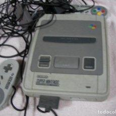 Videojuegos y Consolas: ANTIGUA CONSOLA SUPERNINTENDO CON COMLEMENTOS Y MANDOS. Lote 118096055