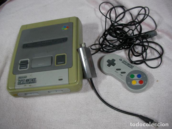 ANTIGUA CONSOLA SUPER NINTENDO CON CABLEADO Y MANDO (C 67.2) (Juguetes - Videojuegos y Consolas - Nintendo - SuperNintendo)
