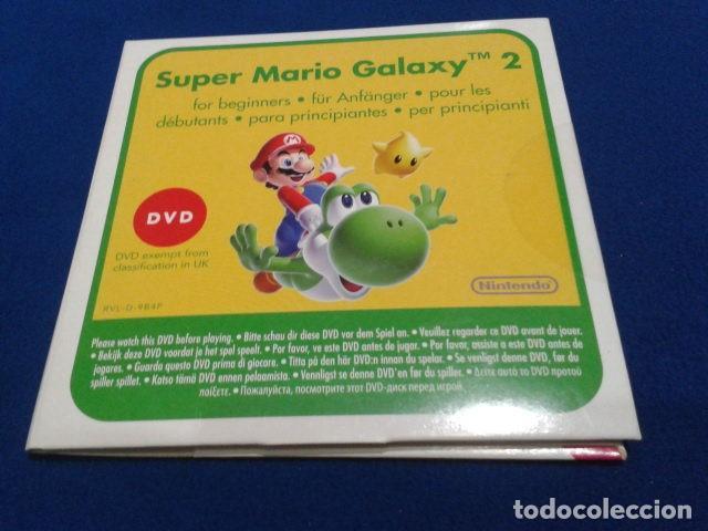 DVD GUIA SUPER MARIO GALASY 2 CERRADO NUEVO (Juguetes - Videojuegos y Consolas - Nintendo - SuperNintendo)