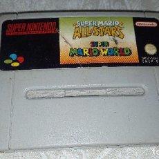 Videojuegos y Consolas: SUPER MARIO ALL STARS, SUPER NINTENDO,VERSION PAL ORIGINAL. Lote 118563955