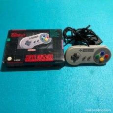 Videojuegos y Consolas: MANDO SUPER NINTENDO EN CAJA SIN MANUAL. Lote 118595019