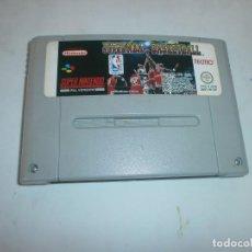 Videojuegos y Consolas: TECMO SUPER NBA BASKETBALL SUPER NINTENDO SNES PAL ESPAÑA SOLO CARTUCHO . Lote 118703939