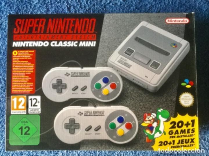 SÚPER NINTENDO. NINTENDO CLASSIC MINI. (Juguetes - Videojuegos y Consolas - Nintendo - SuperNintendo)