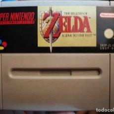 Videojuegos y Consolas: SUPER NINTENDO THE LEGEND OF ZELDA. Lote 27960162