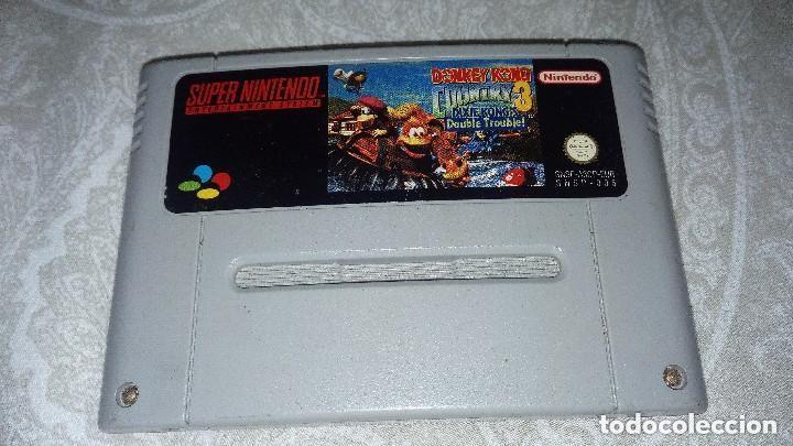 Videojuegos y Consolas: Consola Supernintedo + 5 juegos originales - Foto 5 - 119426299