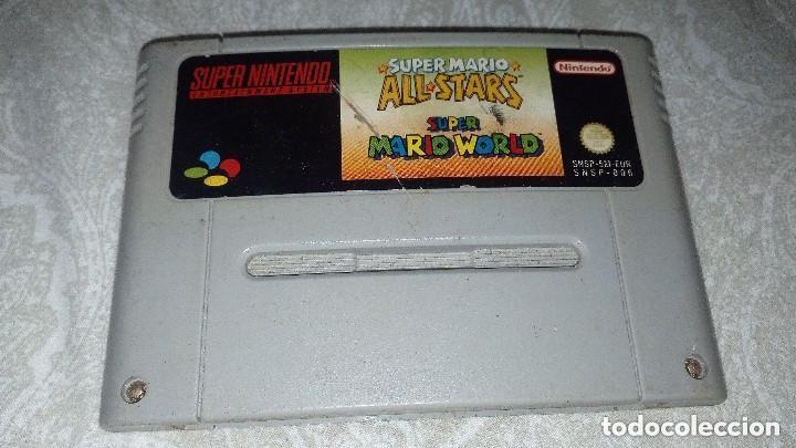 Videojuegos y Consolas: Consola Supernintedo + 5 juegos originales - Foto 6 - 119426299