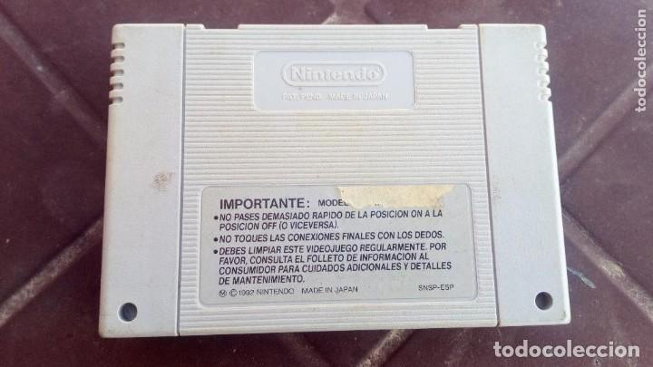 Videojuegos y Consolas: Consola Supernintedo + 5 juegos originales - Foto 8 - 119426299