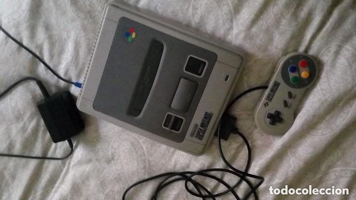 CONSOLA SUPERNINTEDO + 5 JUEGOS ORIGINALES (Juguetes - Videojuegos y Consolas - Nintendo - SuperNintendo)