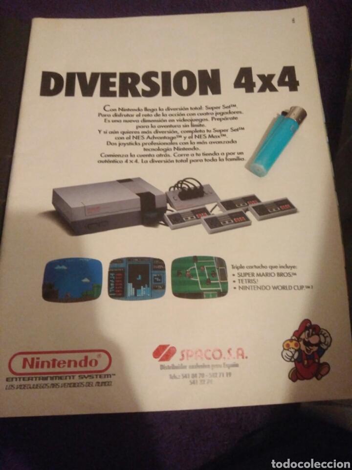ANTIGUO POSTER RECORTE PUBLICIDAD VIDEOJUEGO NINTENDO DIVERSION 4X4 MARIO (Juguetes - Videojuegos y Consolas - Nintendo - SuperNintendo)
