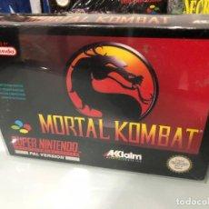 Videojuegos y Consolas: MORTAL KOMBAT PAL UK SUPER NINTENDO. Lote 121104563