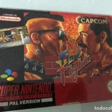 Videojuegos y Consolas: FINAL FIGHT PAL ESPAÑA SUPER NINTENDO. Lote 121104879