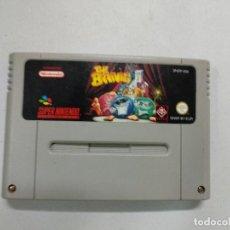 Videojuegos y Consolas: THE BRAINIES - SUPER NINTENDO SNES - PAL. Lote 121276471