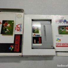 Videojuegos y Consolas: FIFA SOCCER 96 - SUPER NINTENDO SNES - COMPLETO - PAL. Lote 122118243