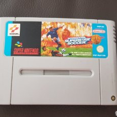 Videojuegos y Consolas: JUEGO SUPERSTAR SOCCER SUPER NINTENDO. Lote 148450257