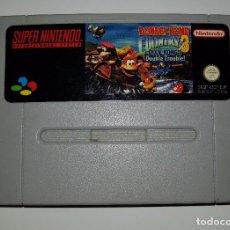 Videojuegos y Consolas: SUPER NINTENDO JUEGO DONKEY KONG COUNTRY 3 SNES PAL. Lote 165309452